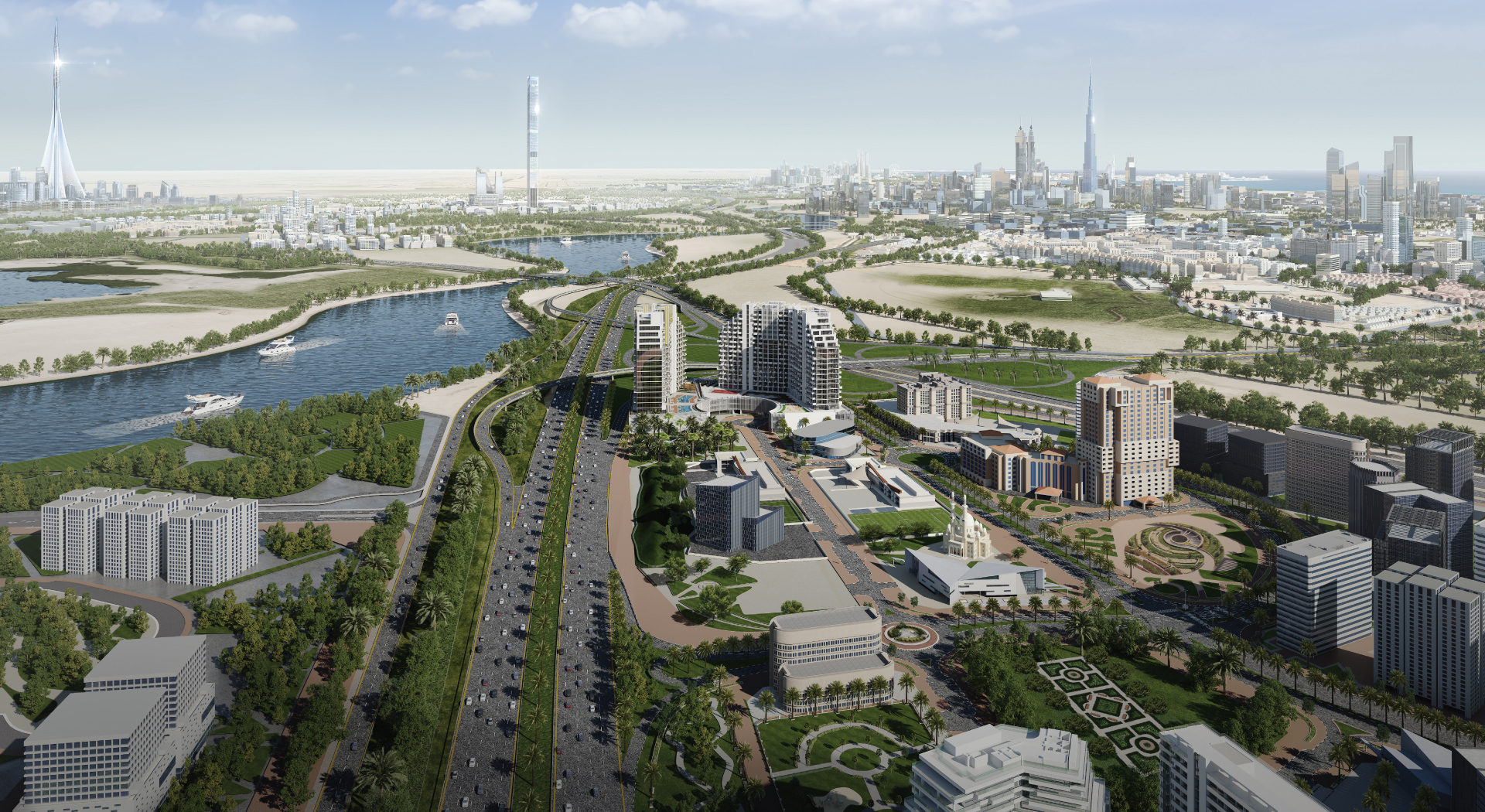 Apartments for sale in Creek Views 1 by Azizi at Health Care City